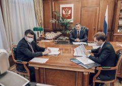 Юрий Трутнев и Владимир Солодов обсудили социально-экономическое развитие Камчатки