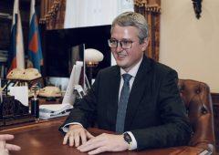Александр Козлов провёл рабочую встречу с главой Камчатского края Владимиром Солодовым